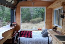 Tiny houses/ caravans/ campers
