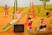 Murals / murals, custom murals, custom painting, hospitals, painting for kids rooms, commercial murals, residential murals