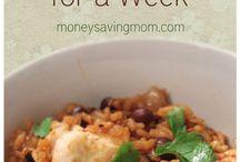 Meal Plan & Recies