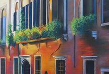 Village ou facades