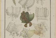 Drawn bonnets Early C19