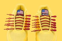 Shoe laces.