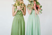 INSPIRATION bridemaids & wedding party