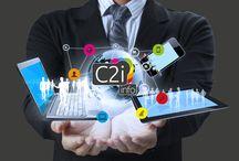 C2i INFO / Nous sommes une entreprise de services numériques  Nous vous conseillons et vous accompagnons à travers :  - Une agence de communication afin d'accroitre votre visibilité pour augmenter votre chiffre d'affaire.  - Un service informatique afin d'améliorer le passage de l'information entre vos collaborateurs tout en diminuant vos coûts de fonctionnements.