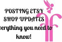 Etsy Shop Updates
