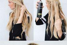 idée pour faire les cheveux