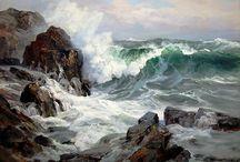 море скалы