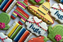 Fiesta Cinco De Mayo Cookies