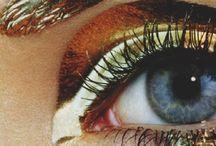 A golden eye.
