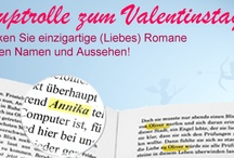 Valentinstag 2013 & Valentines Day 2013 / PersonalNOVEL's contribution to Valentines Days teaser and slider on the starting page.