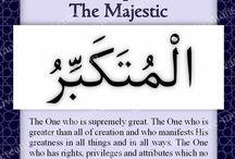 Beautiful names of Allah