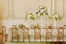 """2016 Wedding Trends / In this board we feature 8 Trending Wedding Themes for 2016! Tell us which one is your favorite! You may choose to make one of these """"looks"""" your own, or create something as totally special as """"you""""! Whichever choice you make, remember that it's always """"Your Wedding - Your Way!""""  #1 Luxe Unbuttoned Elegance, #2 Refined Rustic Charm, #3 Organic Woodland, #4 Chinoiserie Chic, #5 Nostalgic Nouveau, #6 Inspired Industrial, #7 Mid-Century Glam, #8 Urban unique."""