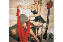 pin up girls / by Michelle Moss-Moffette