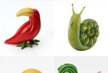 Vegetable Garnishing ideas