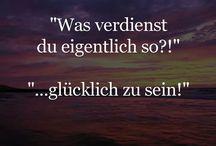 Deutsche Sprüche/Weisheiten