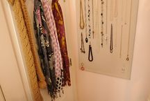 bedroom & closet organization  / by Rebekah Treece