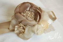Wedding, bridal, bridesmaid wrist corsage / Bridal, bridesmaid wrist corsage, cuff bracelet, cuff bouquet, bracelet bouquet, wedding accessories, Bridal corsage, bridesmaid corsage