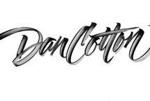 Typographic & calligraphy / My selection of stunning typographic design example & calligraphy signs. La mia selezione di stupendi disegni tipografici  e segni calligrafici.