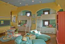 Kids Bedroom/Playroom Concepts / by Leanne Inskeep