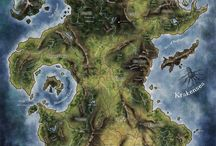 RPG maps: Geographical / Board of the most interesting and beautiful maps of fantasy worlds, continents and countries.