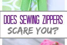 sewing zips
