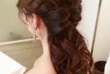 ♡♡ bridal hair