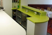 Corian Fabrication by Bespoke Cabinet Works