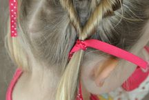 Hairstyle for a girl