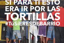 #TúsíEresDeBarrio / Visita www.nosotroselbarrio.com