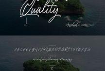 Best script font