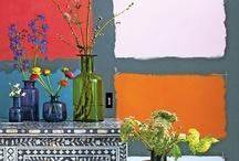 colourful decors