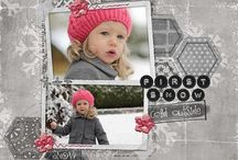 A Scrapbook Layout (One Page) / by Sarah