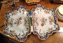 French & Italian Pottery