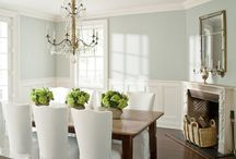 Dining room ideas / by Angie Orlebar Baynes