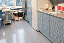 Medical Clinic Flooring / This board contains photos of flooring formulated for medical clinics and hospitals.