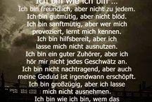 Quotes & Lyrics / Sprüche, Zitate, Lebensweisheiten (deutsch)... Inspiration für schwere Zeiten oder einfach für jeden Tag!