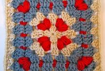 Granny squares galore / crochet and granny crochet squares
