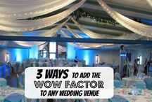 Venue Decor / Want some beautiful ideas to dress up your venue? This is the place to look! Follow the board to not miss a single idea!