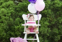 1st bday photography