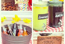 BBQ PARTY/adoption party ideas / by Donna Duffield