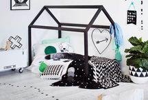 Kids ★ House Beds / Tendencias decoración infantil. Inspiración Camas con forma de casita diferentes acabados.