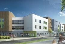BDM architectes Concours EHPAD La grenouillère, Bordeaux / Concours pour la création d'un EHPAD de 74 lits en milieu urbain.