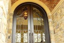 Iron Door / Iron doors provide an old-world, classic look combined with strength and durability. Custom patterns are available, along with different color finishes. Create instant curb appeal and enhance the appearance of your home by replacing your door today!