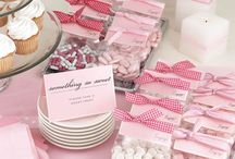 Bat Mitzvah - Andrea / A Bat Mitzvah to celebrate an 11th birthday - her coming of age. A high tea with a lovely girly, garden party feel to it.