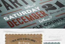 Invites - Christmas