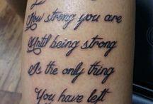 Tattoos  / by Alexis Robinson