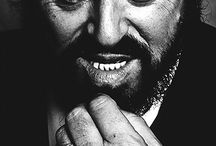 luciano pavarotti / beloved by sad clowns of little and great reknown / by Choxanne Rontay