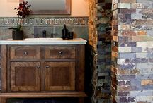 Bathroom ideas / Powder rooms, master bathrooms, beautiful sinks and faucets