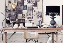 inspiration / moodboards, wall decorations