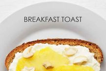 Breakfast ideas / Toast